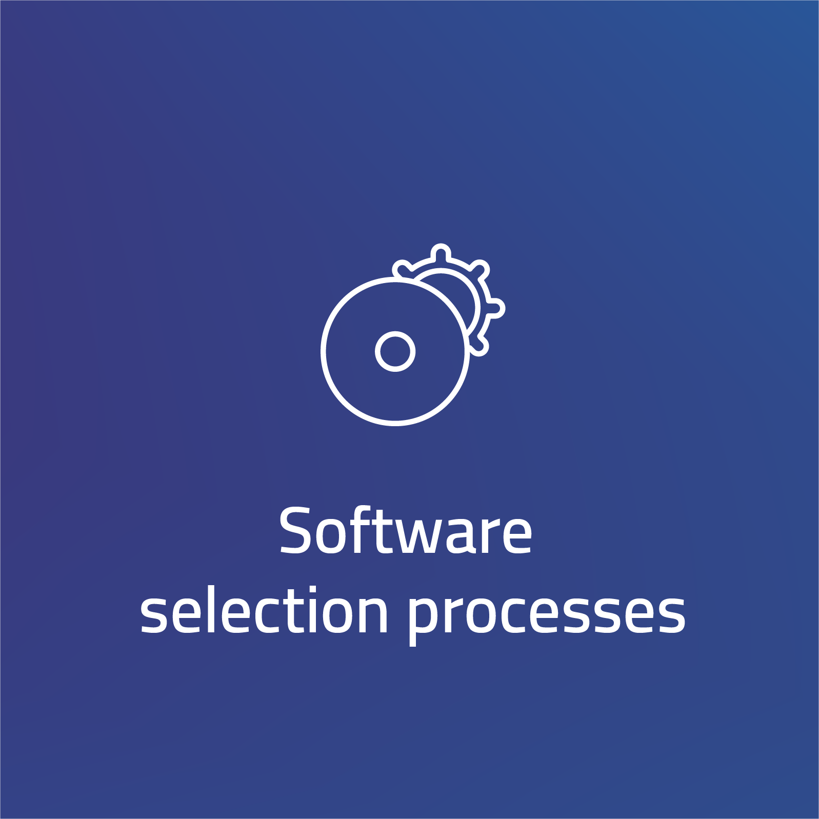 Software selection processes