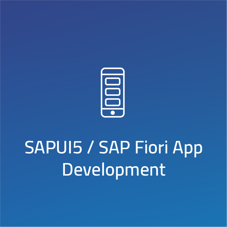 SAPUI5 / SAP Fiori App Development