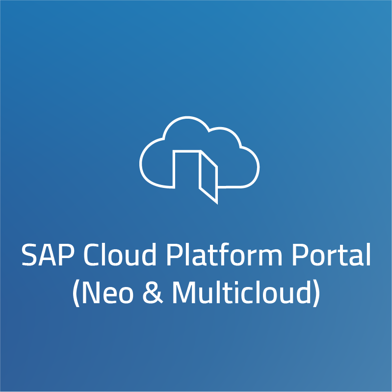 SAP Cloud Platform Portal (Neo & Multicloud)