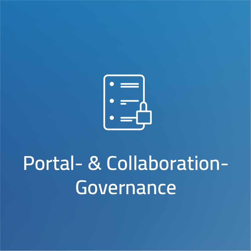 Portal- und Collaboration-Governance