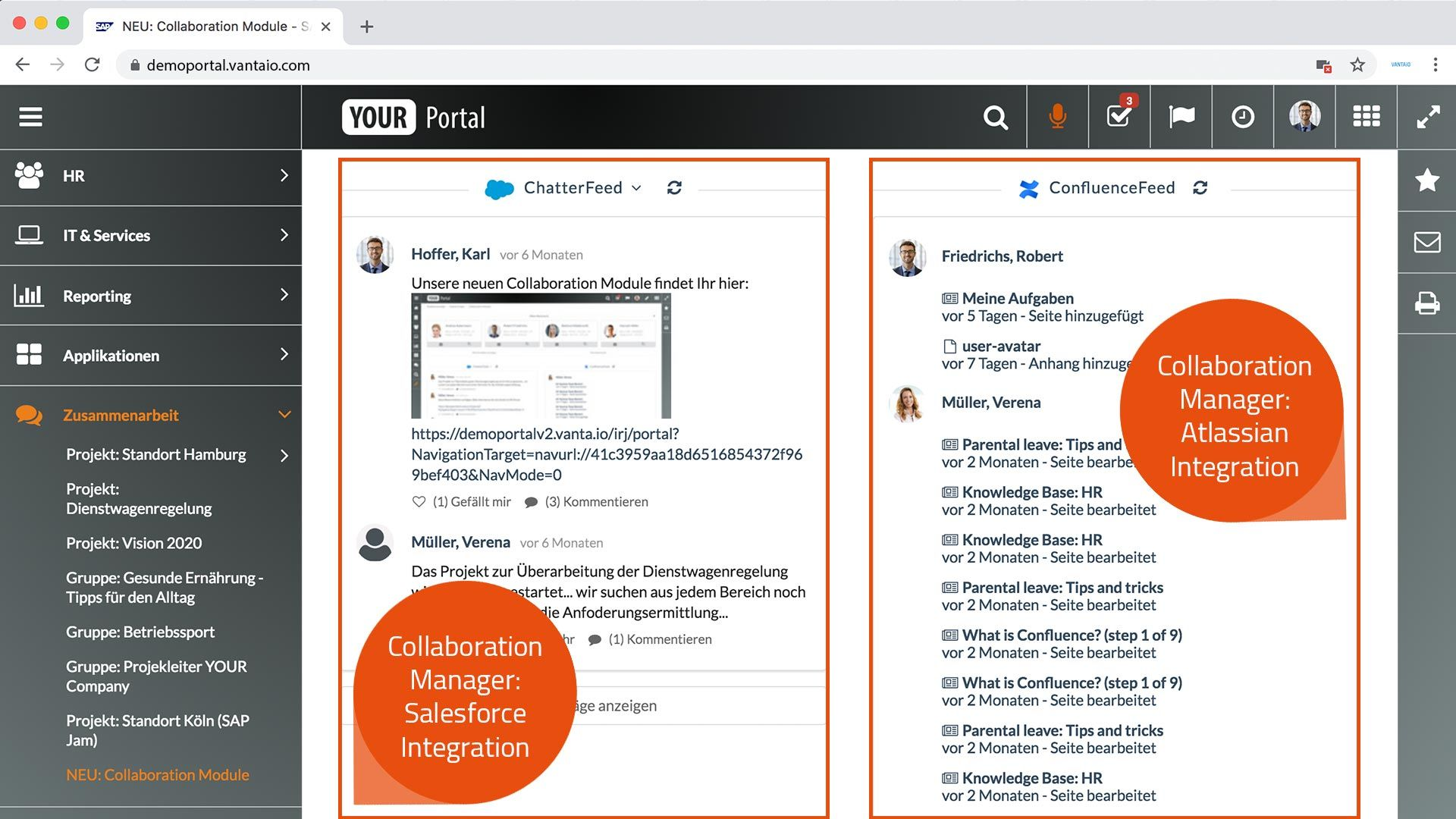 Collaboration Manager Integration