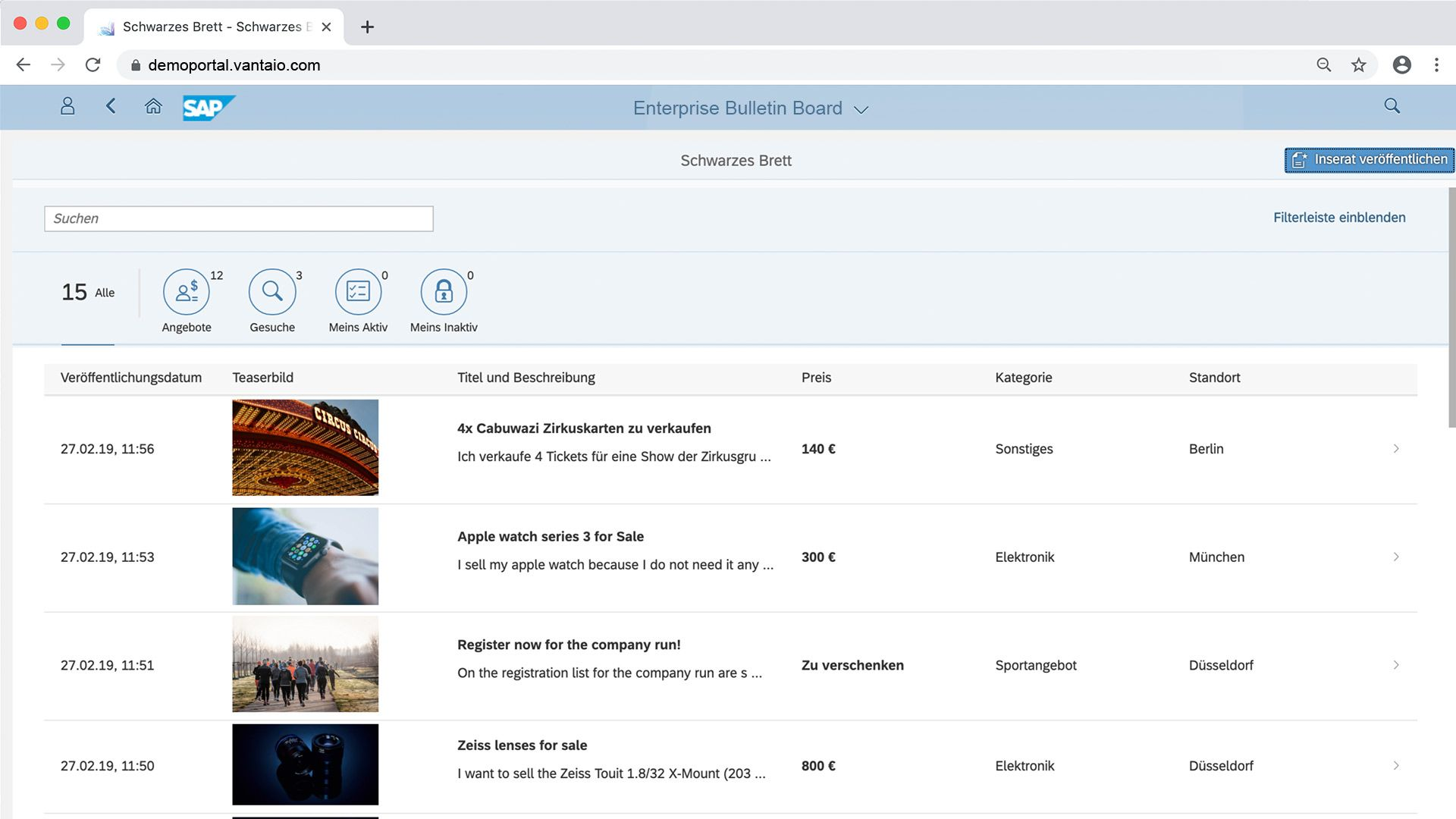 News & Activity Manager User Experience SAPUI5