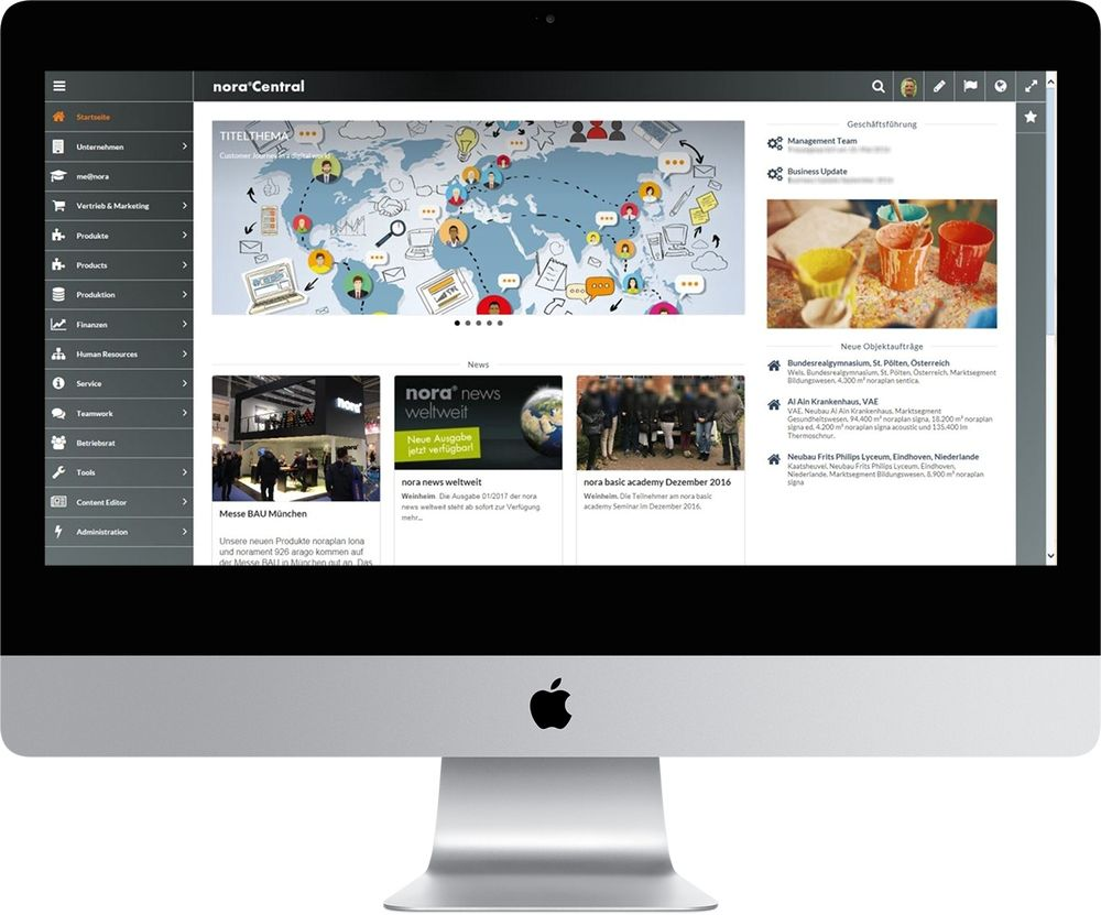 nora systems Intranet
