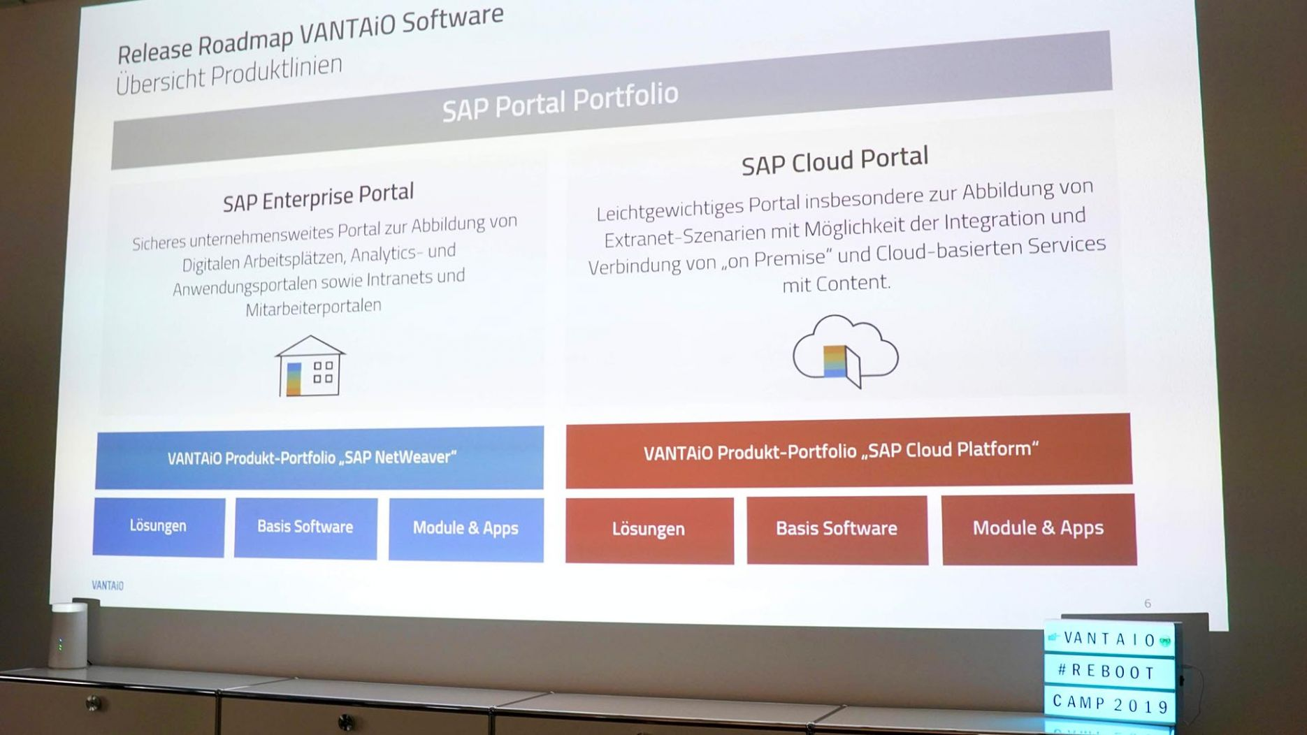 Review: VANTAiO Re-Boot Camp 2019
